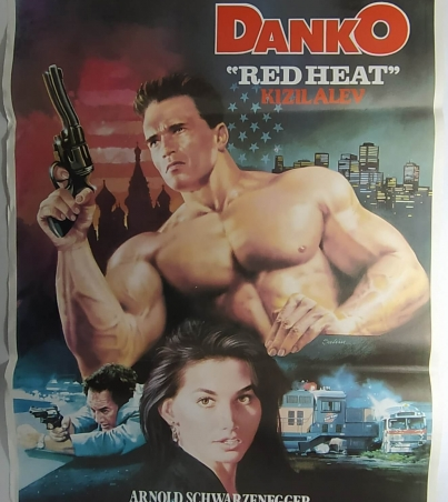 DANKO RED HEAT movie poster