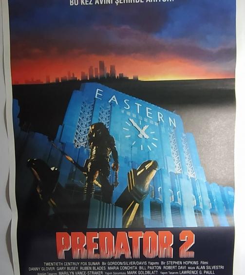 PREDATOR 2 movie poster