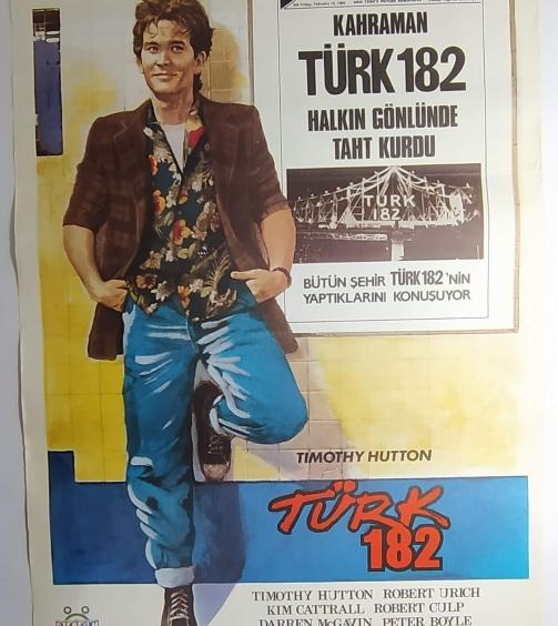 TURK 182 movie poster
