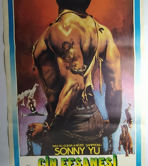RAIDERS OF THE SHAOLIN TEMPLE movie poster